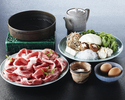 Sukiyaki Tokujo course
