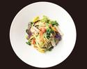 【TAKEOUT】スパゲッティーニ 季節野菜のペペロンチーノ