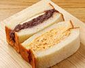 「ミックスサンドイッチ」(小倉バター+奥久慈卵)※10時以降の受取り