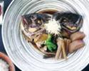 鯛かぶとと旬の根菜の煮付け