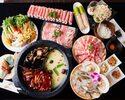 神湯(シンタン)コース|【誕生日など】和牛リブロースや最高級ラム肉&国産豚♪11品