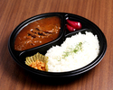 Beef line curry lunch