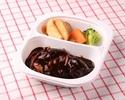 【テイクアウト】牛ホホ肉とハンバーグデミグラスソース