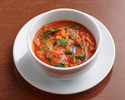 Minestrone Soup, vegetables, tomato