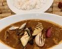 【テイクアウト】吊るし熟成短角牛のフォンとすじ肉で作ったごろっと野菜の特製スープカレー