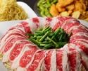 ★日木限定★【3時間飲み放題付】たっぷり野菜と牛肉のヘルシー炊き肉コース