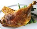 【テイクアウト】バルバリー鴨もも肉のコンフィ ¥2,000