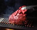 【18歳未満限定】牛ハラミ塊肉の焼肉海鮮コース【2時間ソフトドリンク飲み放題付】