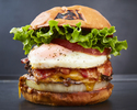 【TAKEOUT】ベーコンチーズエッグバーガー Bacon Cheese Egg burger