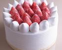 【デリバリー】4号(12cm)ストロベリーショートケーキ ¥3,000(税抜)