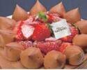 【デリバリー】5号(15cm)チョコレートショートケーキ ¥4,200(税抜)