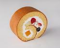【デリバリー】新フルーツロールケーキ1ピース ¥864(税込)
