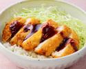 【テイクアウト】牛カツソース丼