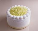 【デリバリー】5号(15cm)スーパーメロンショートケーキ ¥9,000(税抜)