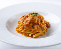 【TAKEOUT】ズワイ蟹と渡り蟹のタリオリーニ【調理済み・120グラム】