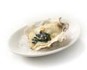 """【テイクアウト】""""オイスターロックフェラー"""" ホワイトソースとほうれん草の焼き牡蠣 2ピース"""