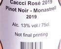 【テイクアウト】オリジナルワイン CACCCI(カッキー)ロゼ