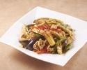 Spicy stir-fried eggplant