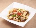 Fried chicken cashew nuts