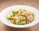 XO soy seafood fried noodles