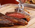 ステーキディナーコース(メインディッシュ:あか牛サーロイン)