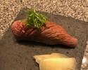 (28)5片日本黑牛肉烤寿司