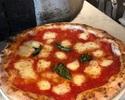 Margherita (tomato sauce, basil, mozzarella)