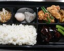 【テイクアウト】黒酢の酢豚弁当