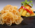 Cold jellyfish and Chinese pickles platter