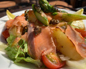 【TAKEOUT】ブロッコリーとサーモンをのせたサラダ Broccoli & Salmon Salad