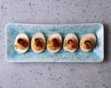 【テイクアウト】燻製卵のデビルドエッグ