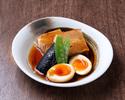 【デリバリー】黒豚の角煮トロトロ煮玉子