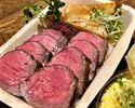 【テイクアウト】予約限定!シャロレー牛ステーキ丼