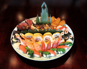 【テイクアウト】旬の食材を使用した祢保希オリジナル♪~寿司盛合せ~