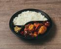 【デリバリー】③辣子鶏 鶏の山椒唐辛子炒め弁当