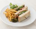 【TAKEOUT】BKT サンドウィッチ BKT Sandwich