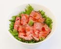 ⑦シェフの特製ローストビーフ丼