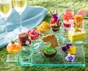 Deluxe Afternoon Tea with a glass champagne and Conrad Bear