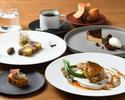 【プリフィクスランチ全4品】 選べる前菜&メインなど全4品+乾杯スパークリングワイン