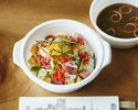 <Takeout>【Main Dishes】Chirashi Sushi with Miso Soup🍣
