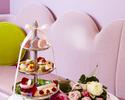 """【期間限定】"""" Pompadour + ミニパルフェ+ローズラテ"""" Afternoon Tea"""
