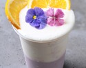 【テイクアウト】ピーチ&パインのW豆乳スムージー