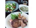 【テイクアウト】リブアイステーキ(300g 半調理品)セット