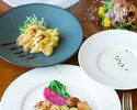 【Lunch】【2250円★乾杯スパークリング付】期間限定!パスタや肉料理などハワイアンテイストの全5皿カジュアルコース