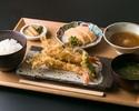 天ぷらランチ