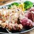 ブラックアンガス牛ハラミと大山鶏ムネ肉のグリル2種盛り合わせ…