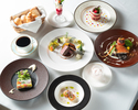 Dinner ¥10,000 Menu Bonheur (ムニュ ボヌール)