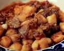 【PASTA】茄子の入った淡路産牛ボロネーゼの トマトクリームソース ニョッキ