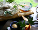 【夏季限定】冷しおぼろどうふ 竹の膳 生湯葉付き