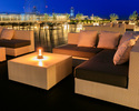 """[Couch sofa """"Party"""" commitment] [Summer-only """"Riverside beer terrace""""] Terrace seats/Adults (13 years and older)"""